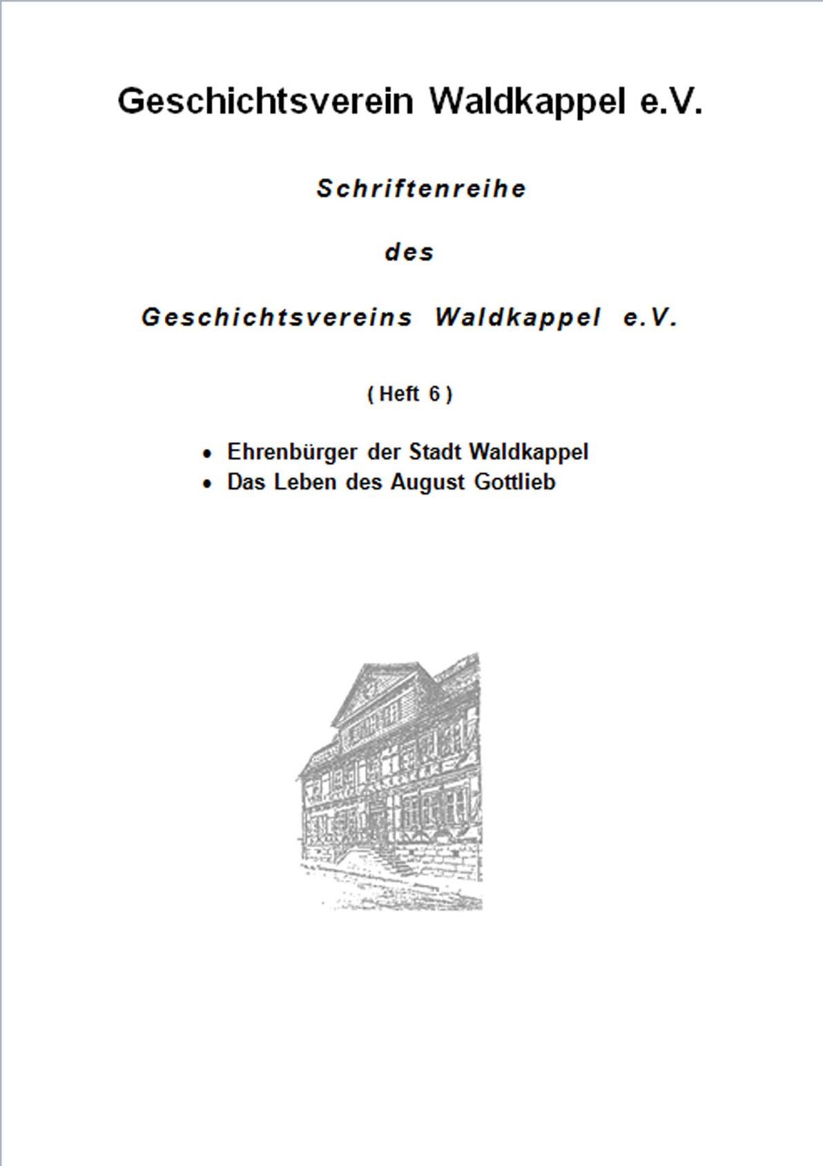 Schriftenreihe ‐ Heft 6 ‐