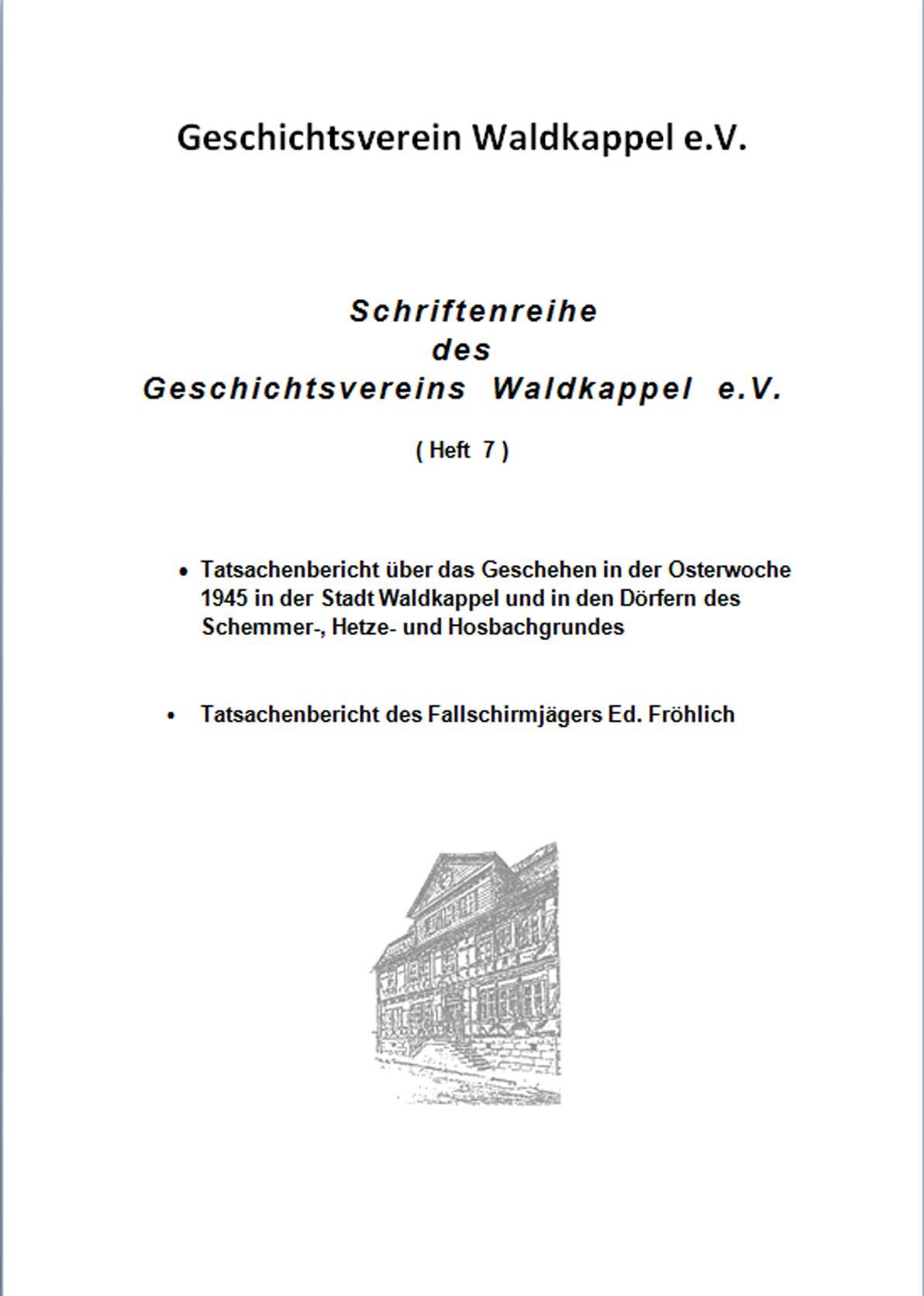 NEU >> Schriftenreihe ‐ Heft 7 ‐